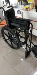 Cadeira de Rodas Simples , Pneu Inflavel