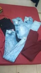 Lote 60 peças roupa feminina