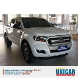 Ford Ranger 2.2 Xls Cd 2017 Branco Completo - 2017
