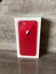 IPhone 8 Vermelho Red 64 Gigas Novo Lacrado 1 Ano De Garantia divido no cartão
