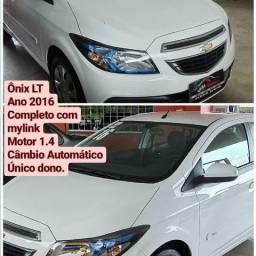 Ônix LT 1.4 Automático. TOP. Padrão GM Veículos - 2016