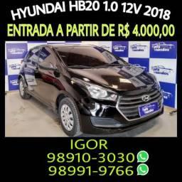 Hyundai hb20 confort 1.0 12v flex 2018 em oferta! falar com igor na rafa veiculos - 2018