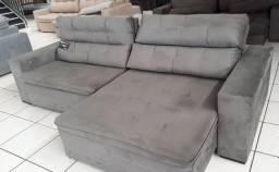 Sofa retrátil e reclinável, NOVO/ PRONTO ENTREGA