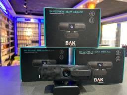 Webcam Full HD 1080P Microfone e Redução de Ruídos
