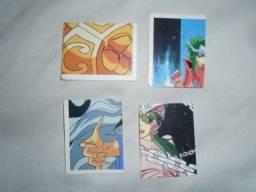Título do anúncio: Cromo Figurinha Do Livro Ilustrado Cavaleiros Do Zodíaco