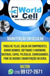 Manutenção geral de smartphones