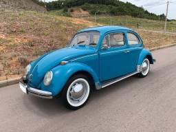 VW Fusca 1972 - 1300 - Azul Pavão