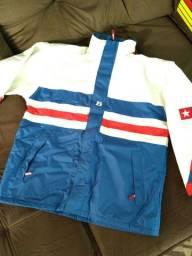 Blusa jaqueta de frio grande