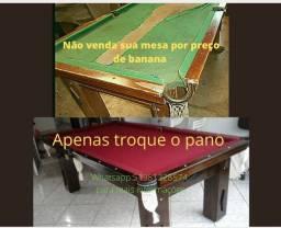 (Urgente ,não venda sua mesa com pano feio e manxada por preço de banana ,só troque o pano