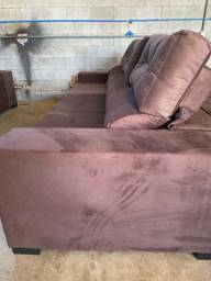 Sofa Safira retrátil reclinavel 2,75 m