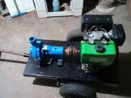 Bomba d'água com motor diesel