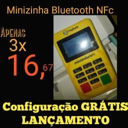 Minizinha Bluetooth NFc