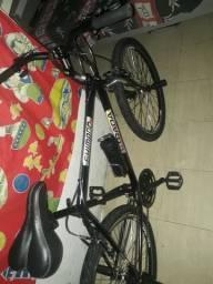 Bicicleta recem montada