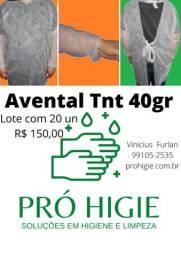 Avental TNT 40 gr