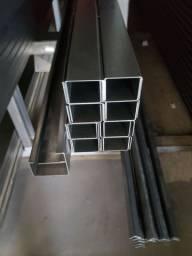 Trilho U 70x30 - Metal Rápido
