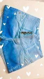 Short jeans tie dye por R$39,99