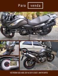 Suzuki Vstrom 650 ABS 2015 sistema anti furto