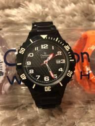 Relógio Champion Troca Pulseira Unissex 5 Pulseiras Original