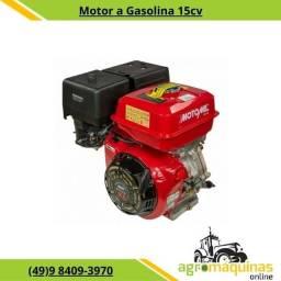 Motor Estacionário Gasolina MG-15cv Com Partida Elétrica - Motomil