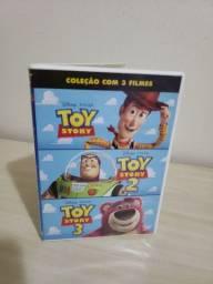 DVD's TOY STORY - 1, 2 e 3 - 20,00