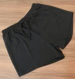 Shorts feminino soltinhos cores