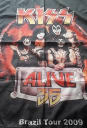 Bandeira Nylon Kiss 35 Anos