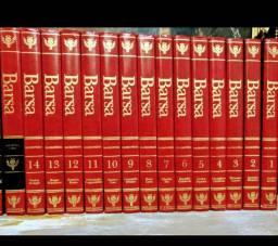 Coleção enciclopédia Barsa 18 volumes 1998