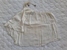 Blusa off-white da Mercatto