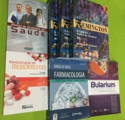 Livros de Farmácia- coletânea com os melhores livros. De 1000 por 300,00