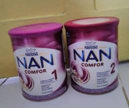 Título do anúncio: Vendo Duas latas de leite Nan , fechadas .