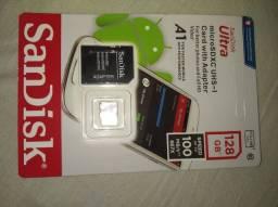 Cartão de memória 128gb