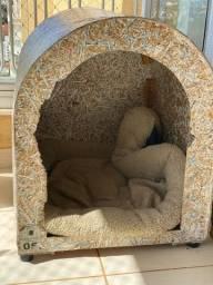 DOAÇÃO: casinha num 5 para cachorro médio/grande porte