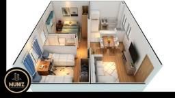 SR  Apartamento com 2 Quartos , piscina ,  Acabamento de Luxo !
