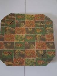 Título do anúncio: 10 cx papelão para pizza 45X45X4cm