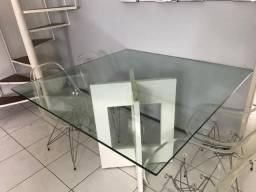 Mesa de vidro temperado