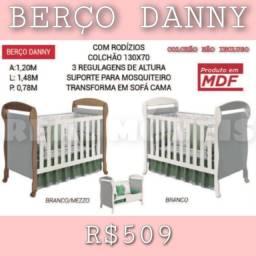 Título do anúncio: Berço berço Danny (03 regulagens de altura)
