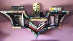 Prateleira Arkham City (HQ) - Estante Livros