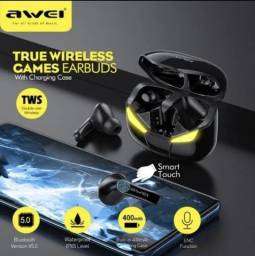 Fone De Ouvido Bluetooth Awei T35 Tws Gamer Bluetooth 5.0