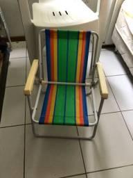 Cadeira de praia para criança