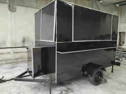 Treiler ford truk