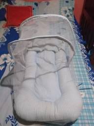 Berço portátil mosquiteiro ninho - Porta Mamadeira
