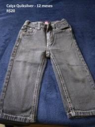 Calça jeans Quiksilver- 12 meses
