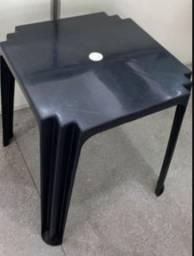 Atacado jogo completo de mesa plástica cor preta nova