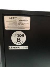Par de cxs de som Lando Modelo LA-3100- DRD. 100 Watts.