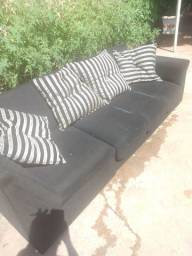 Sofa mais 4 almofada