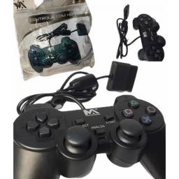 (WhatsApp) controle joystick p/ ps2 - vídeo game dual shock - max pp-20
