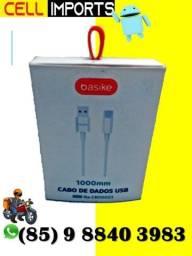 Cabo usb Tipo C Produto Novo   Marca Basike