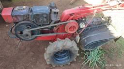 Tobatta com rotativa, arado,jogo roda ferro tbm