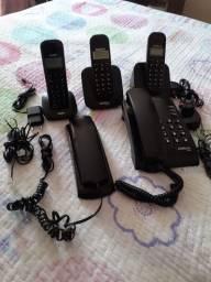 Vender telefones sem fio e com fio ?