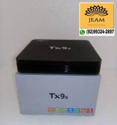 Tv Box Tx9s 3Ram 32Gb Função Tv Smart Chromecast<br>